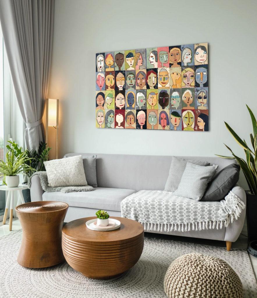 Beispielhafte Bilddarstellung im Raum
