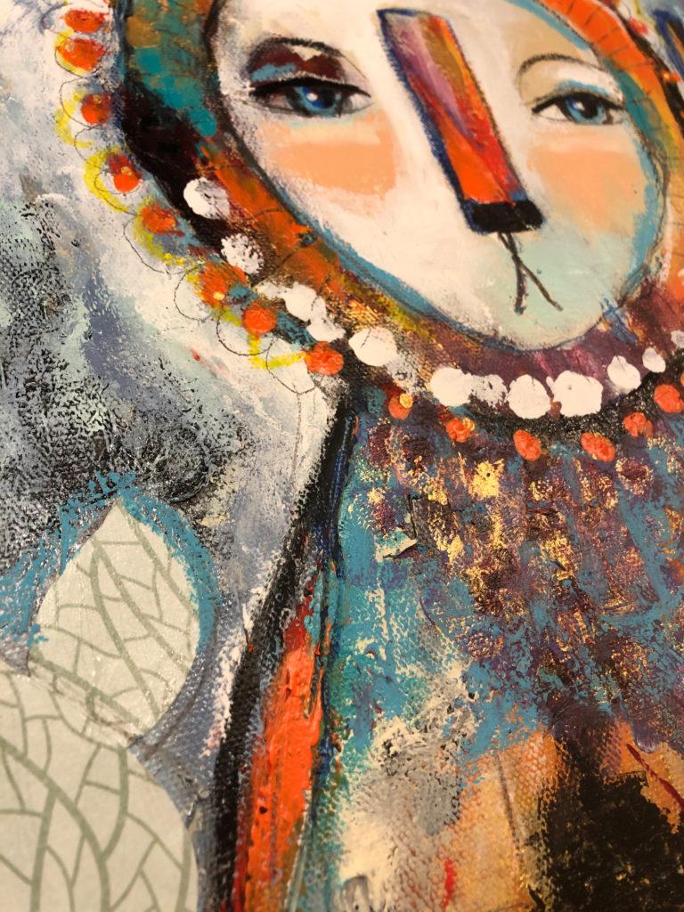 """Detail von """"Kleiner Löwe"""""""