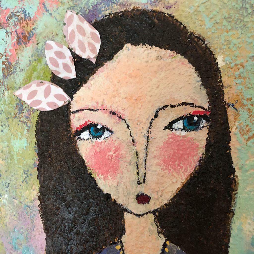 """Detail von """"Blütenmeer"""""""