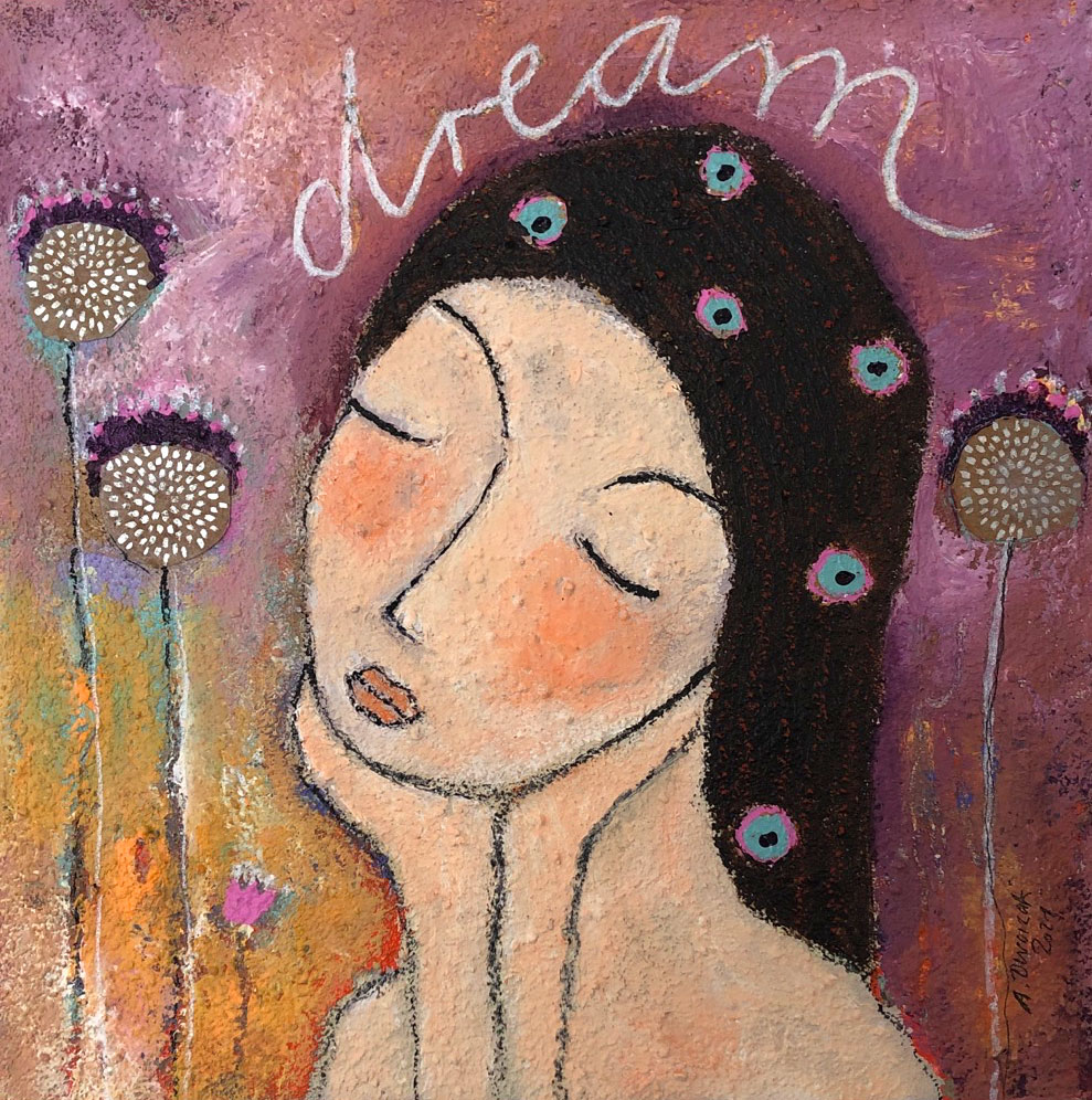 """Dream"" Original Acrylmalerei"